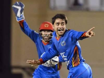 Afghanistan's Rashid Khan makes ODI cricket history