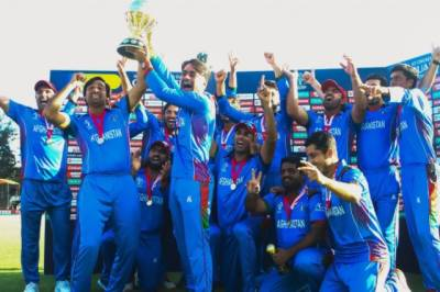 Afghanistan thrashes West Indies laying a marker ahead of World Cup