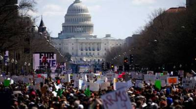 Country-wide protests held in US, demanding tighter gun control laws