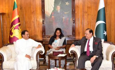 Sri Lankan President calls for comprehensive measures to further promote relations with Pakistan