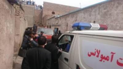 Twin suicide bombing in Afghanistan