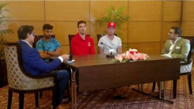 We're happy to be in Pakistan, it is a peaceful country: Ronchi