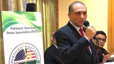 Aizaz urges need for increasing people-to-people Pak-US ties