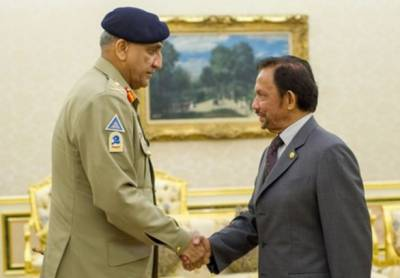 -COAS General Bajwa calls on Brunei civil and Military leadership