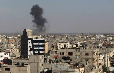Israeli jets pound Hamas positions in Gaza