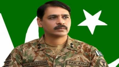 Pakistan on way to its rightful destination of peace & stability: DG ISPR