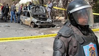 Bomb blast kills 6 militants in Egypt