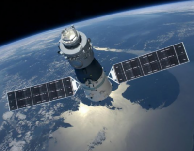 China's space station to crash back to earth