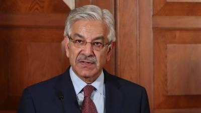 Khawaja Asif in hot waters