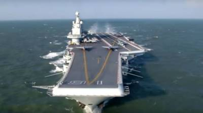 China unveils indigenous built massive Aircraft Carrier codenamed Type 001A