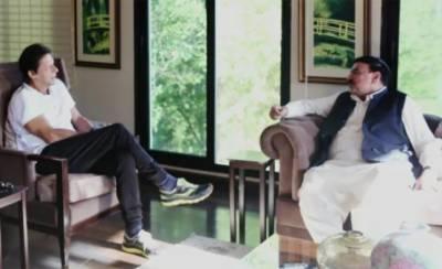 Imran Khan - Sheikh Rashid hold political discussion in Banigala