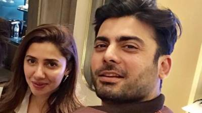 Mahira Khan and Fawad Khan had a reunion