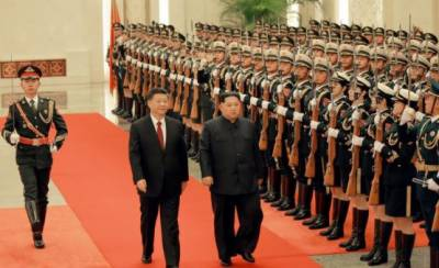 North Korean Kim makes unprecedented announcement during first ever foreign visit to China