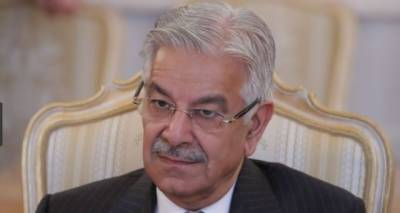 Pakistan supports President Ghani's peace plan: Khawaja Asif