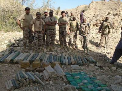 Security forces recover arms, ammunition in Balochistan