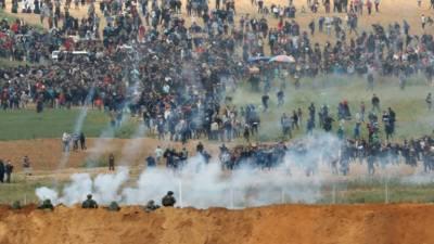 5 Palestinians martyred in fierce clashes near Israel border