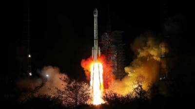 China launches twin satellites into Space