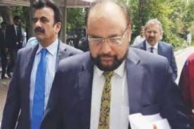 Khawaja Harris continues cross examination of Wajid Zia