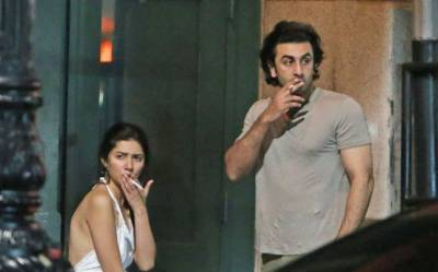 Mahira Khan - Ranbir Kapoor met secretly in London: Report