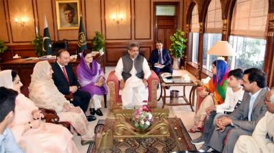 Nobel Laureate Malala meets PM in Islamabad