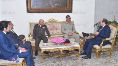 Pak, Egypt discuss matters of bilateral strategic interest
