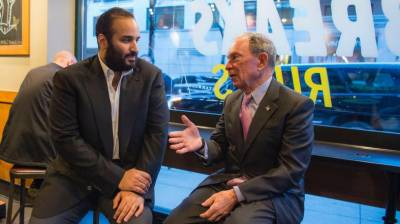 Saudi crown prince meets top US Executive officials in US