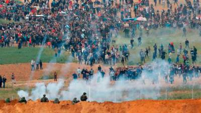 15 Palestinians martyred in clashes with Israeli forces
