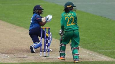 3rd Women T-20 b/w Pakistan and Sri Lanka being played today