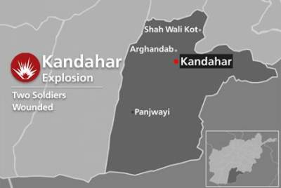 Bomb blast in Afghanistan, 4 Army soldiers killed, wounded