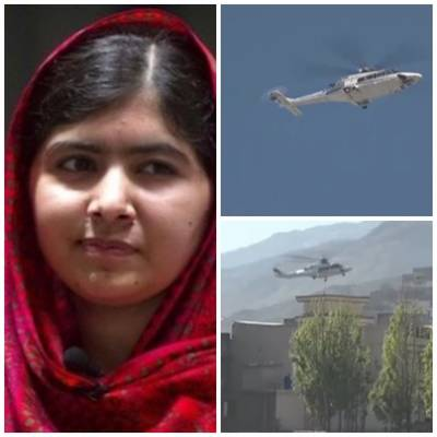 Malala Yousufzai reached Mingora in Swat