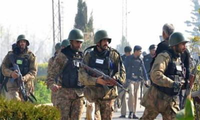 Pakistan Army personnel martyred in operation against terrorists