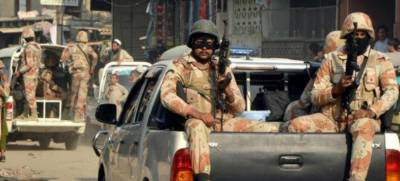 Rangers arrest 8 criminals in Karachi