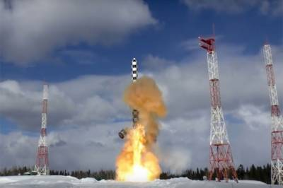 Russia successfully tests latest ICBM