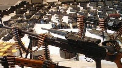 Sindh Rangers seizes large quantity of arms and ammunition in Karachi