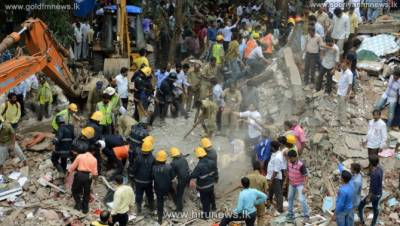 Building collapse kills 10 in central India