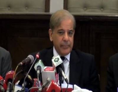 CM Shahbaz Sharif with a changed tone after U.K Visit