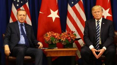 Erdogan, Trump discuss bilateral, regional issues
