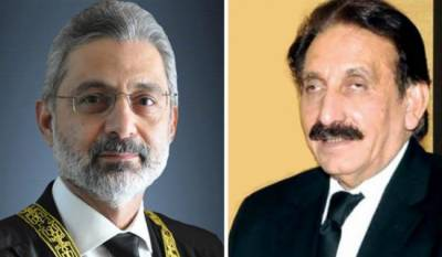Former CJP comes out openly in defence of Justice Qazi Faez Isa appointment