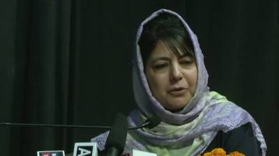 India is not in a position to fight a war with Pakistan: IOK CM Mehbooba Mufti