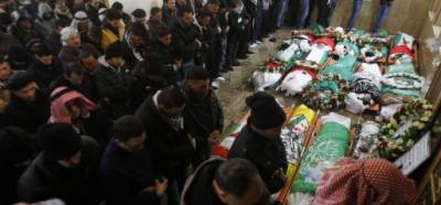Palestinians observe day of mourning