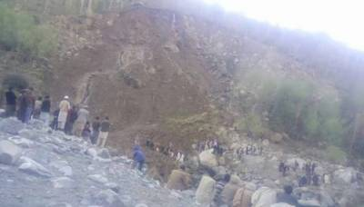 Two bodies recovered from landslide debris in Diamer