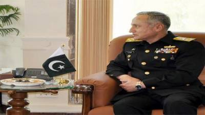 Cimmander Turkish Navy holds bilateral meeting with Pakistani counterpart in Naval Headquarters