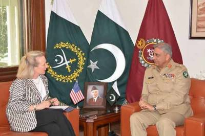 Top US diplomat holds important meeting with COAS in GHQ