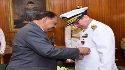 Turkish Navy Chief awarded one of the highest military award of Pakistan