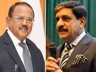 A secret contact between the Indo - Pak NSAs ended the stand off