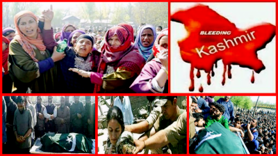 Complete shutdown observed in Indian Held Kashmir against killing of 17 youth by occupation forces
