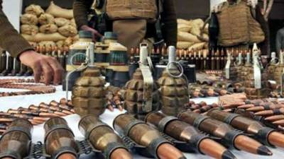 Security forces recover huge quantity of arms, ammunition in NWA
