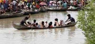 UNHCR concerned over safety of 56 Rohingyas in stormy seas
