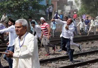 Violent incidents in India kill 8