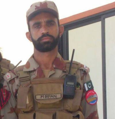 Solider martyred after killing two terrorists in counter terrorism ops in Balochistan: officials